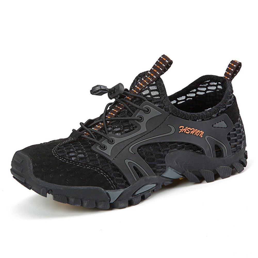 夏季透气登山网布鞋 户外休闲网鞋 防滑耐磨橡胶鞋底 溯溪鞋 多功能户外鞋 YH-9321