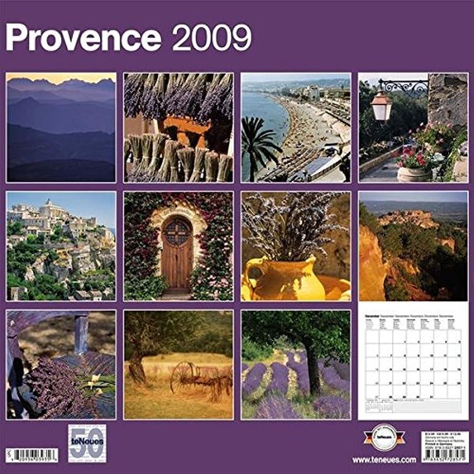 無力忘れるマーチャンダイジングProvence 2009 Calendar (Grid Calendar)