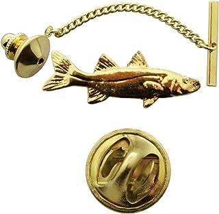 Snook Tie Tack ~ 24K Gold ~ Tie Tack or Pin ~ Sarah's Treats & Treasures