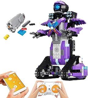Mould KingRemote Control Building Block Robot Set for Kids Intelligent Building Kit 6-13 Years Old Boys Girls Gift (333 Pieces)