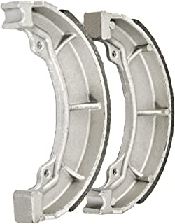 Foreverun Motor Rear Brake Shoes compatible with Honda TRX 200 200SX Fourtrax 1984-1991