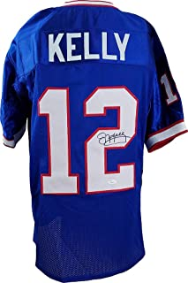 Jim Kelly Buffalo Bills Autographed Signed Custom Prostyle Jersey - JSA Certified Authentic