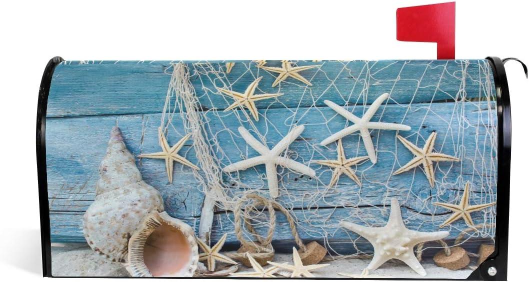 shop CFAUIRY Mailbox Cover Magnetic Retro Starfish 100% quality warranty! Wrap Shell