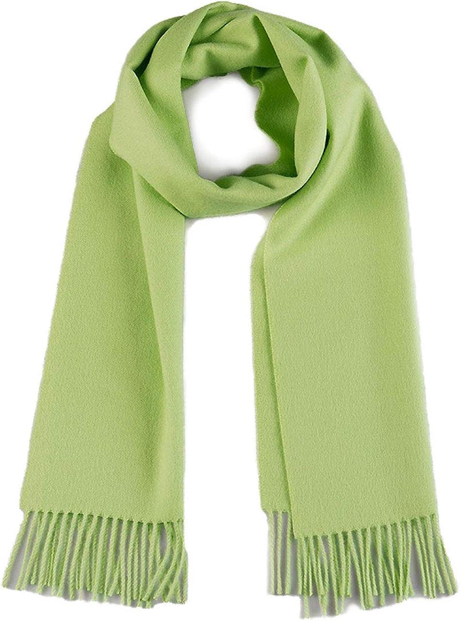 Inca Fashions | Luxurious Premium Baby Alpaca Scarf - Ultimate Softness - for Men and Women (Green Tea)