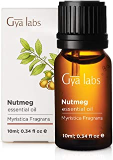 Nutmeg Essential Oil - A Soothing Touch of Serene Sleep (10ml) - 100% Pure Therapeutic Grade Nutmeg Oil