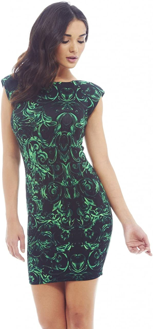 AX Paris Women's Printed Floral Mini Dress