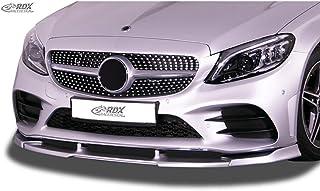 PU RDX Racedesign RDFAVX30953 Front Spoiler Vario-X Suitable for Mercedes E-Class Line /& E43 AMG W213//S213 2016-2020