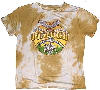 Women's Tops Grateful Dead Mustard Tie Dye Tee T Shirt