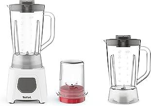 Tefal BL2B41 Blendeo Blender with Extra Jar and Grinder, 1.5L, White
