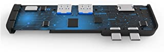 CMDZSW USB 3.1 Hub Type-C a Adattatore HDMI 4K Thunderbolt 3 USB C Hub con hub 3.0 TF SDER Slot Reader PD per MacBook PRO/...