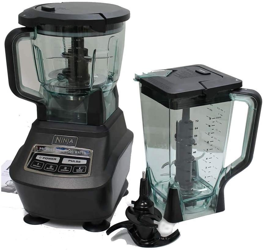 Amazon Com Ninja Mega Kitchen System Blender Processor Nutri Ninja Cups Bl770 Renewed Kitchen Dining
