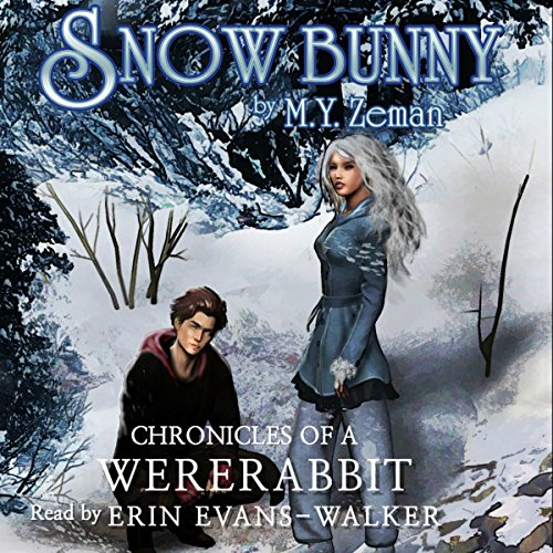 Snow Bunny audiobook cover art