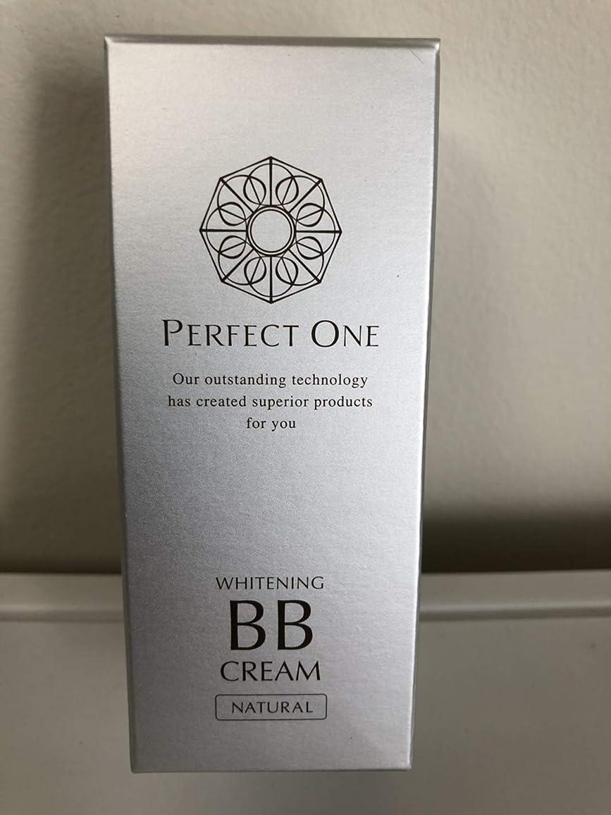 パウダー理容室維持する新日本製薬 パーフェクトワン 薬用ホワイトニングBBクリーム ナチュラル 25g