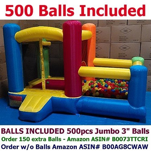 Little Castle Bounce House with Ball Pit and Balls