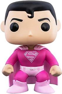Funko Pop! DC Heroes: Superman con atuendo de concientización sobre el cáncer de mama