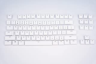 Suitable Logitech G915TKL G915 G815 Keyboard keycaps,Replacement Keycaps Mechanical Gaming Keyboard (G915 TKL White 87 Keys)
