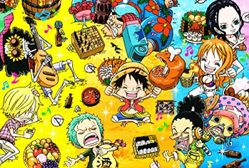 SKYTY Jigsaw Puzzles 300 Pieces-Anime ONE PIECE-A8_1000-Wooden Assembling Puzzles for Adults Kids Puzzle games home Educational Puzzle Toys