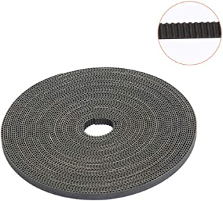 3D Printing Belt, FYSETC 10 Meters (33ft) GT2 Open Timing Belt 2mm Pitch 6mm Width Rubber Fiberglass Fit for RepRap Prusa Mendel Rostock CR-10 Ender 3 3D Printers - Black