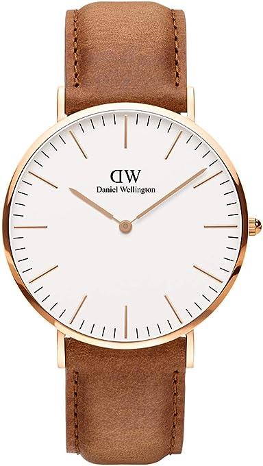 Daniel Wellington Men's Watch Classic Durham Rose Gold 40mm