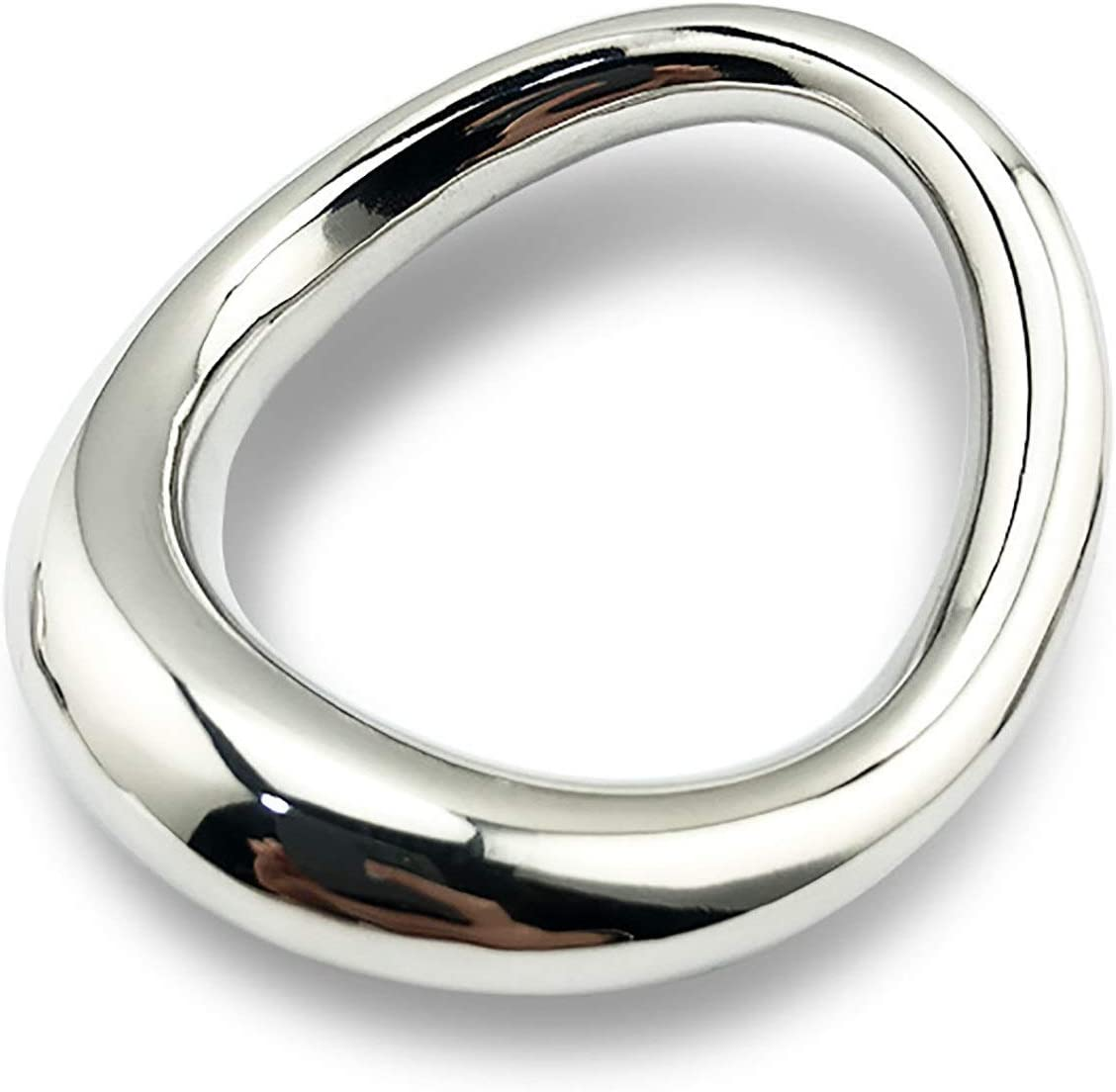 Tudou Curved Cock Rings for Stainless Men Cheap mail order specialty store Ring Metal Dedication Steel