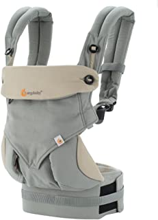 Ergobaby 四式360婴儿背带-灰色BC360GRYTAU1NL(进口)