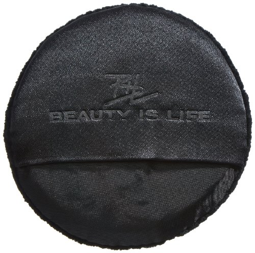 BEAUTY IS LIFE Puderquaste, schwarz, rund