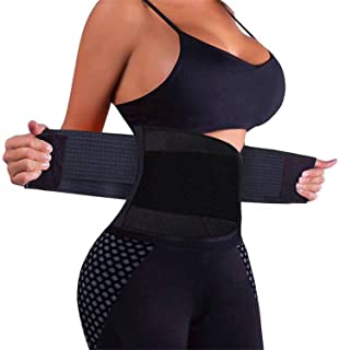 Waist Trainer Belt for Women – Waist Cincher Trimmer – Slimming Body Shaper..