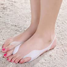 1 Pair Hallux Valgus Corrector Toe Straightener Splint Protector, Bunion Pain Relief for Men and Women (One Size)