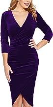 Best purple velvet cocktail dress Reviews