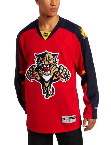 Reebok NHL Herren Florida Panthers Edge Premier Team Trikot – 7185A5P6Hpjfpa (rot, X-Large)
