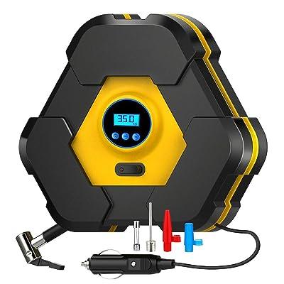 NOOX Portable Air Compressor Tire Inflator Elec...