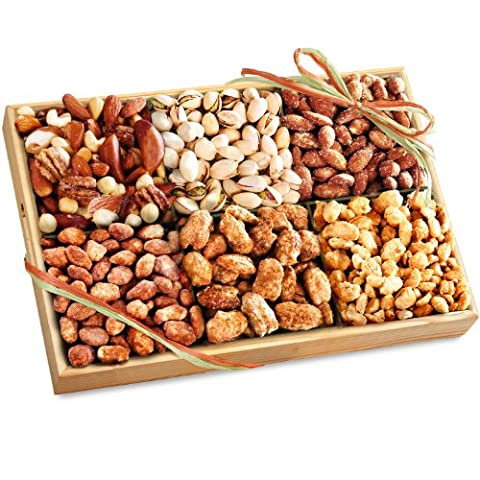 Savory and Sweet Deluxe Nut Tray - Sale: $31.96 USD (20% off)