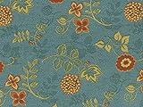 Landhaus Möbelstoff Ellmau Farbe 61 (blau, hellblau) mit