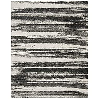 Safavieh Retro Collection RET2693-8479 Modern Abstract Dark Grey and Light Grey Area Rug (3' x 5')
