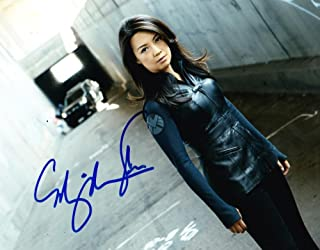 HOT SEXY MING NA SIGNED 8X10 PHOTO AUTOGRAPH MARVELS AGENTS OF SHIELD COA B