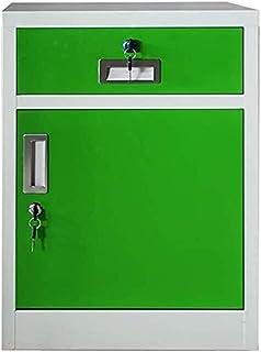 WANGXIAOYUE Armoire de rangement pour dossiers - Armoire de bureau - Armoire de rangement avec verrou en métal - Armoire d...