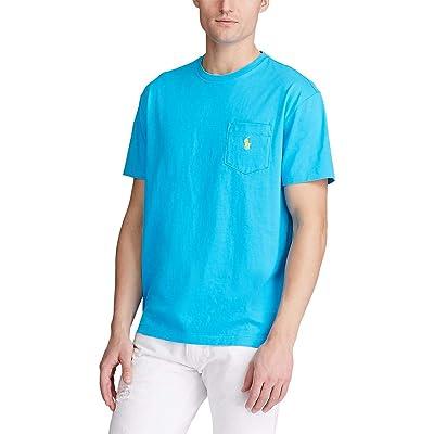 Polo Ralph Lauren Big & Tall Big Tall 26/1 Jersey Short Sleeve Classic Fit T-Shirt (Cove Blue) Men