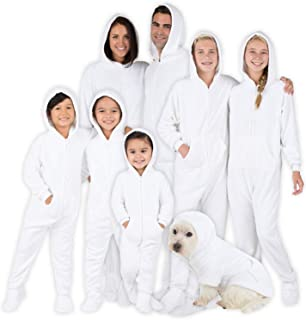 Family Matching Snow White Hoodie Onesies for Boys, Girls, Men, Women and Pets