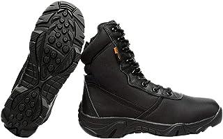 [Facecozy] フェイスコジー ミリタリーブーツ 軍用靴 迷彩 砂漠靴 タクティカル 登山 作業用 衝撃吸収 通気 防水 アウトドア