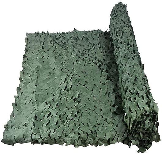 Filet Camo Visière Extérieure GR Tissu Oxford Haute densité de Camouflage en Mode Jungle avec Une Photographie de Tente de Feuille Suspendue pour Les Fans de l'armée Multi-Taille en Option (Taille  4