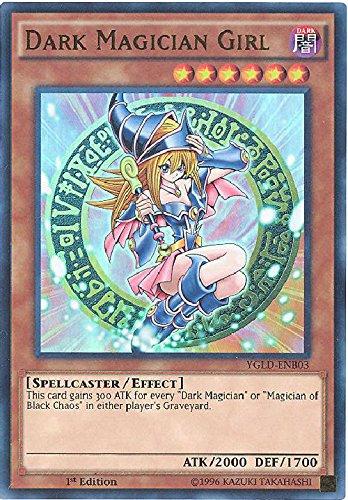 YU-GI-OH! - Dark Magician Girl (YGLD-ENB03) - Yugi's Legendary Decks - 1st Edition - Ultra Rare