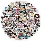 Pack D'autocollants One Direction pour Ordinateur Portable Bombe Autocollants en Vinyle Pack de Variété pour Bagages Skateboard Voiture Moto Décalcomanie pour Adolescents Adultes