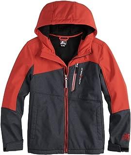 Boys Softshell Jacket, Water Resistant Lightweight Softshell Fleece Jackets for Boys (8-20)