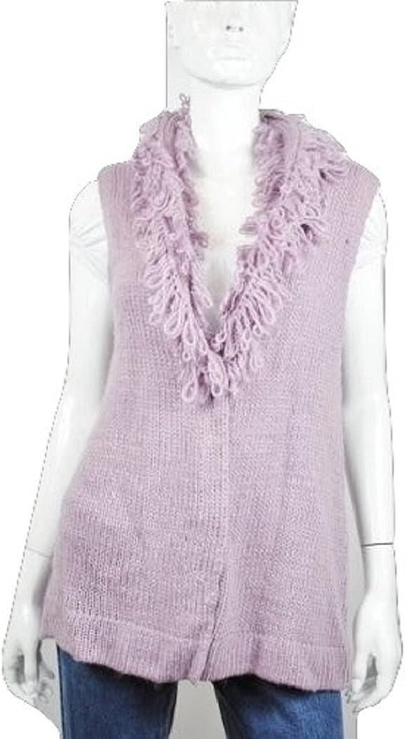 BANDOLINOBLU Women's Lavender Sweater Vest Medium