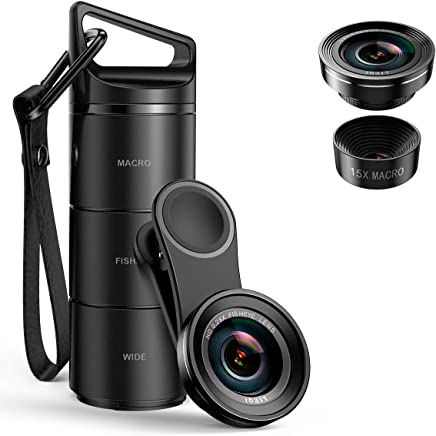 [Upgraded Version] Criacr Phone Camera Lens, 3 in 1 Cell...