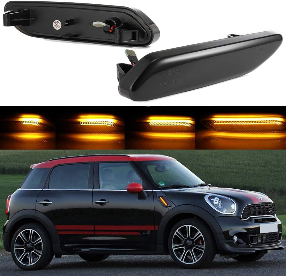 Jinfili Dynamic Dark Smoked Cheap sale Lens Amber Side Front Fender Mar Led Lowest price challenge