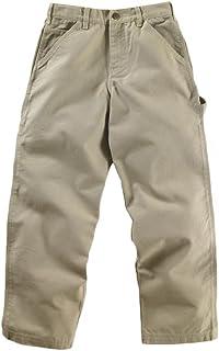 Carhartt Kid's CK8303 Washed Dungaree Pant - Boys - 6 Months - Medium Beige