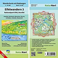 Eifelwandern 3 - Nationalpark Eifel, Rureifel 1 : 25 000: Wanderkarte mit Radwegen, Blatt 31-561, 1 : 25 000, Gemuend, Heimbach, Monschau, Rursee, Schleiden, Schmidt, Simmerath