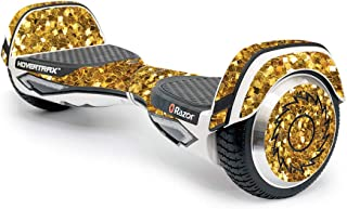 MightySkins Skin Compatible with Razor Hovertrax 2.0 Hover Board - Gold Chips | Protective, Durable, and Unique Vinyl Decal wrap Cover | Easy to Apply, Remove, and Change Styles | Made in The USA