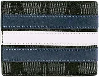 【コーチ】COACH 財布 二つ折り F26173 N3C ミットナイトネイビー メンズ シグネチャーアウトレット [並行輸入品]